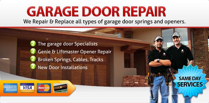 Garage door repair Chandler Az